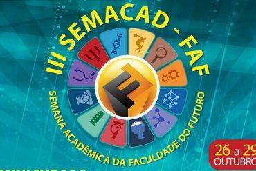 Faculdade do Futuro inicia nesta quarta a Semana Acadêmica